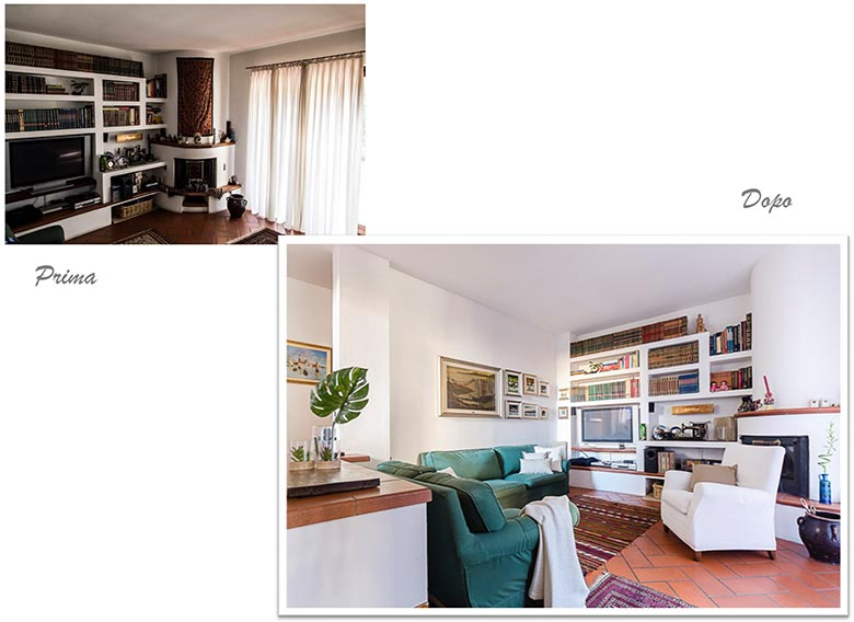 Home Staging, prima e dopo